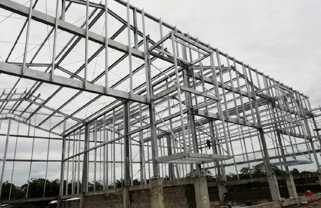 Montaje y construcción en acero para empresas